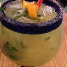 Pineapple Cilantro Lime Margarita