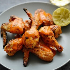 Sticky Lime Chicken Wings