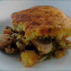 Cornbread Chicken Pie