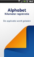 Screenshot of Alphabet KM Registratie