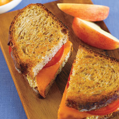 Grilled Cheese and Tomato on Rye