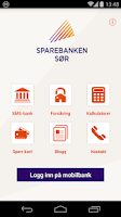 Screenshot of Sparebanken Sør Mobile Bank