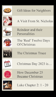 Christmas Lists - screenshot