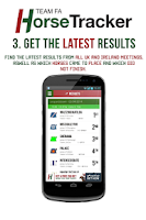 Screenshot of Horse Tracker - Racing Bet App