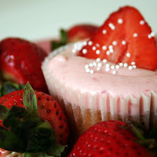 Strawberry Daiquiri Cupcakes (Semi-Homemade)