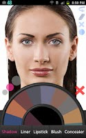 Screenshot of Makeup Paint