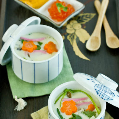 Chawanmushi (Savory Steamed Egg Custard)
