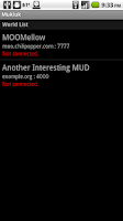 Screenshot of Mukluk MUD Client