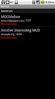 Screenshot of Mukluk MUD Client