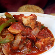 Chicken Cacciatore Stew (Crock Pot)