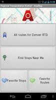 Screenshot of Denver RTD: AnyStop