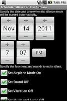 Screenshot of Silence on the Airplane