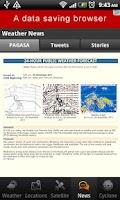 Screenshot of PH Weather