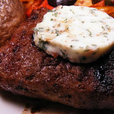 Blue Cheese Butter for Steak