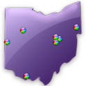 Ohio Fishing Maps - 6,800 Maps icon