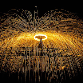 by Ole Lien - Abstract Light Painting