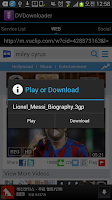 Screenshot of DVD - Daily Video Downloader