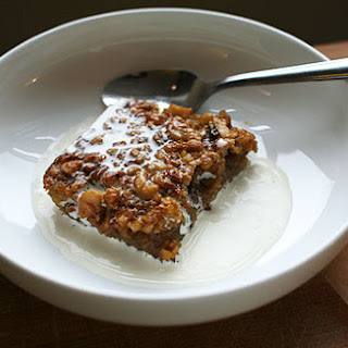 Maple Squares with Walnuts