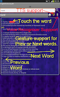 Screenshot of Offline English Dictionary AD