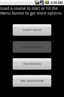 Screenshot of MyGolfHandicap