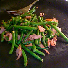 Sweet, Spicy, Easy Green Beans