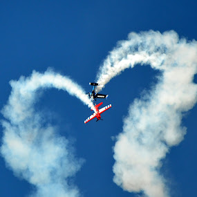 Love by Larry Bidwell - Transportation Airplanes (  )