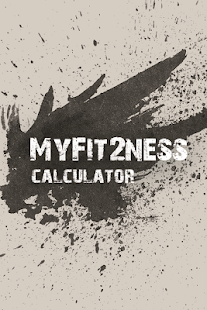 MyFit2Ness Calculator - screenshot