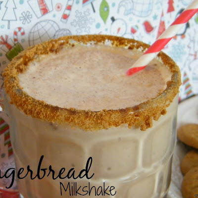 Gingerbread Milkshake