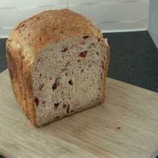 Christmas Jewelled Cranberry and Walnut Bread: Bread Machine