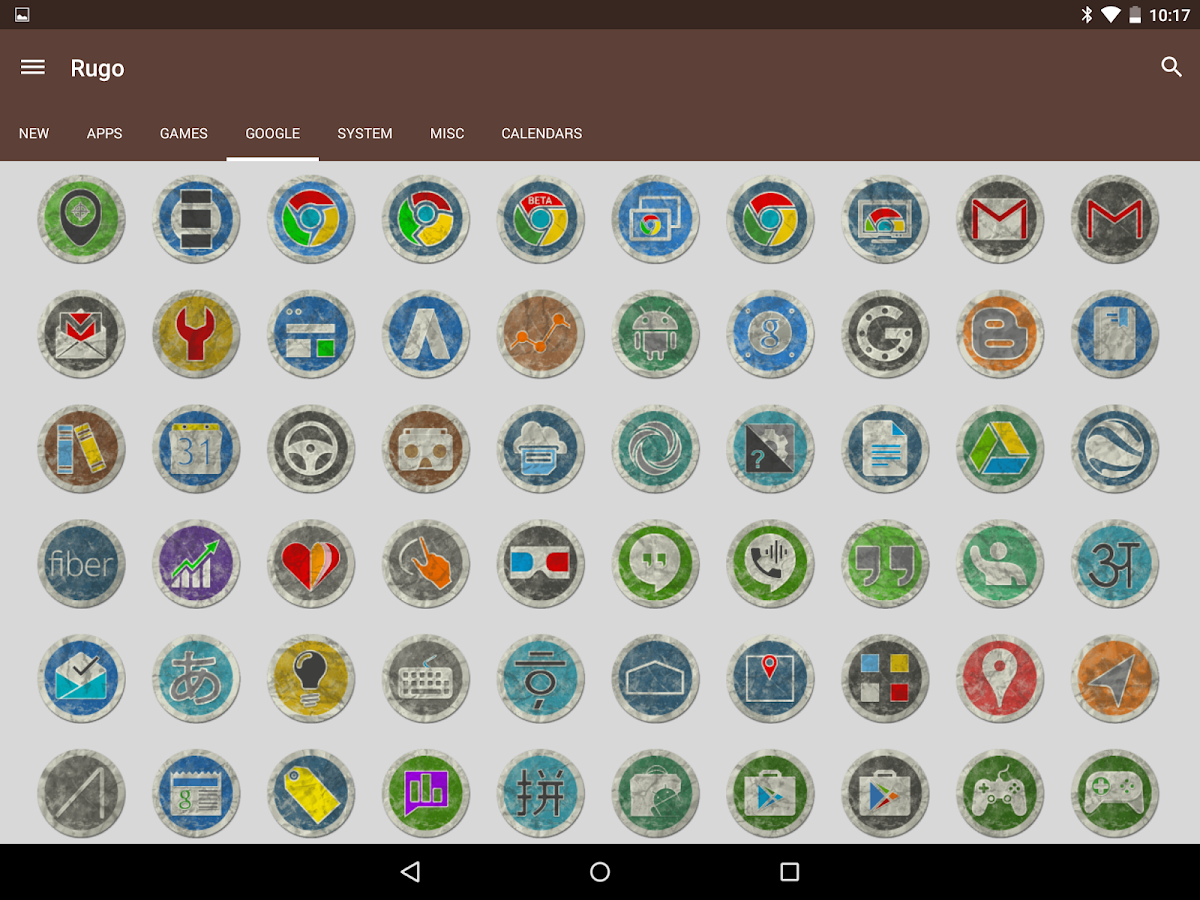 Rugo - Icon Pack Screenshot 11