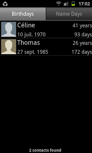 Birthdays and Name-Days Lite