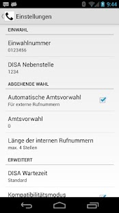 DISA for Android - screenshot