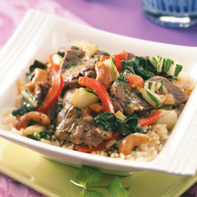 Cashew Curried Beef