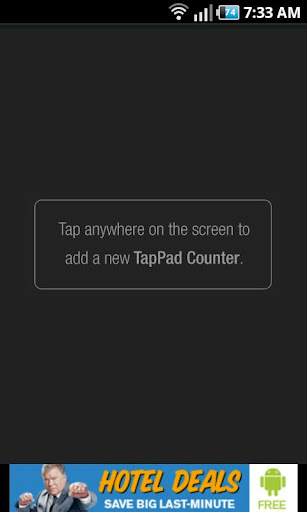 TapPad Counter