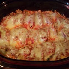 Stuffed Shells with Meat Sauce
