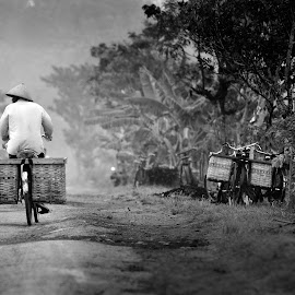 pulang kerja by Indra Prihantoro - Transportation Bicycles ( bicycles, bicycle,  )