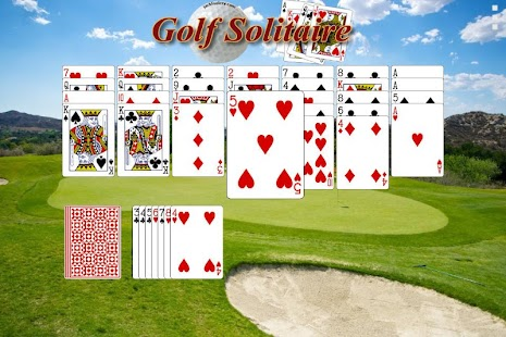 how to play golf easy solitaire