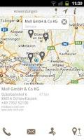 Screenshot of MTU Locator