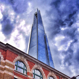 Old and New by Jose Figueiredo - Buildings & Architecture Office Buildings & Hotels ( building, shard, london )