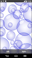 Screenshot of Bubble Live Wallpaper