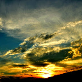 The Sun, The Cloud, The Sky by Abhishek Shirali - Landscapes Sunsets & Sunrises (  )
