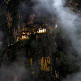 The Tiger's Nest Monastery, Bhutan by John Anthony - Buildings & Architecture Places of Worship