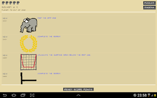 Screenshot of IQ FitFun