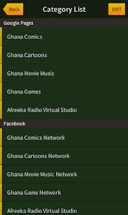 Ghana Comic Network- screenshot