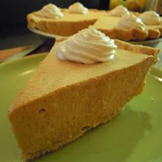 Pumpkin Bavarian Cream Tart