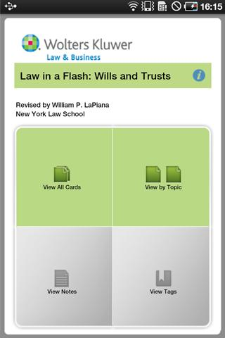 LIAF: Wills and Trusts
