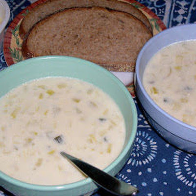 Colonial Potato Leek Soup