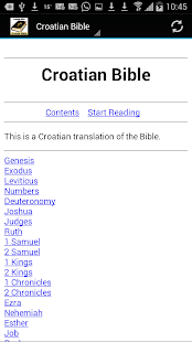 Croatian Bible Translation - screenshot