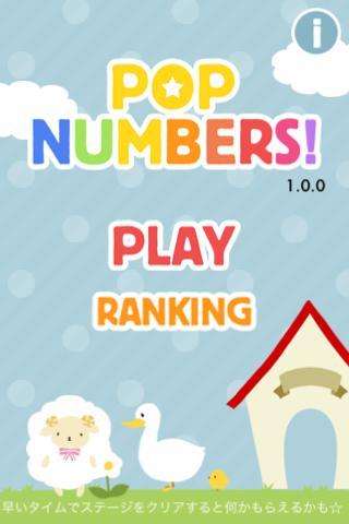 POP NUMBERS