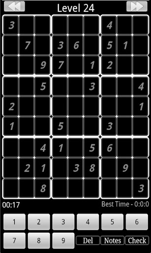 Sudoku Monochrome